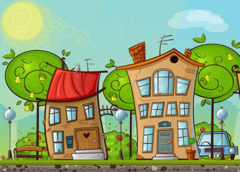 Cartoon house_4
